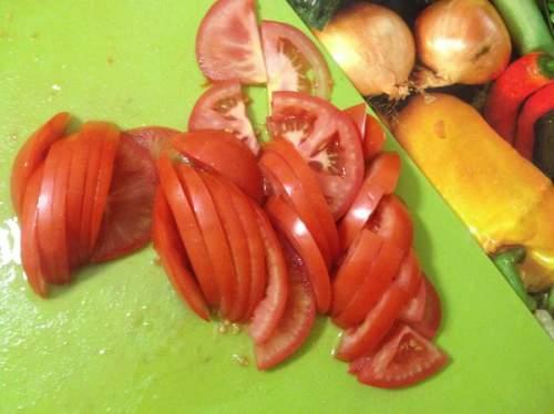 помидоры нарезанные фото