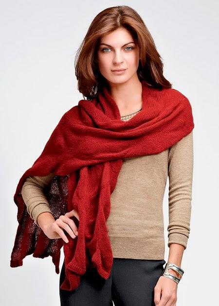 модный шарф 2015 фото