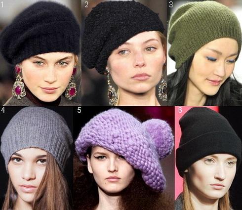 модные женские головные уборы зима 2015