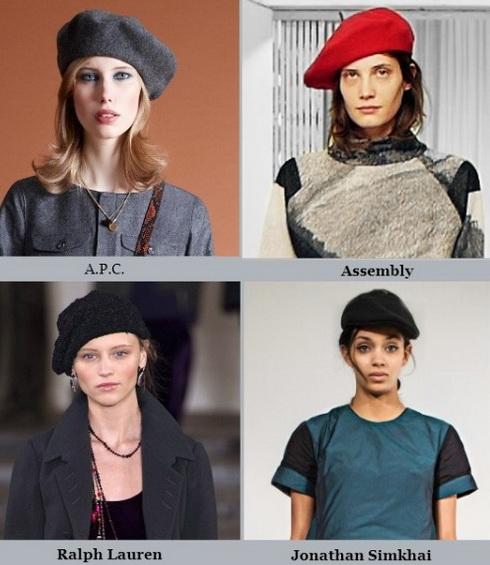 модные женские головные уборы 2015