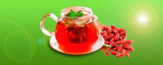 ягоды годжи чай