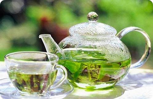 травяной чай из душицы фото