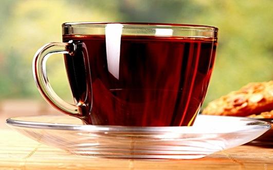 фруктовый чай из земляники фото