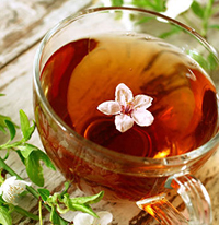 травяной чай шалфей фото