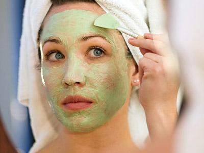 простые маски для лица фото
