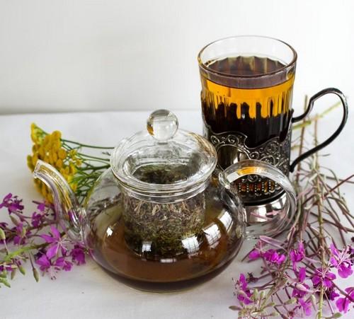 чай с чабрецом фото