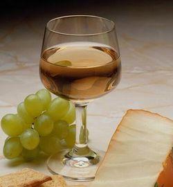 белое вино фото