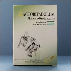 Лактобифадол для кошек. Применение, свойства, инструкция
